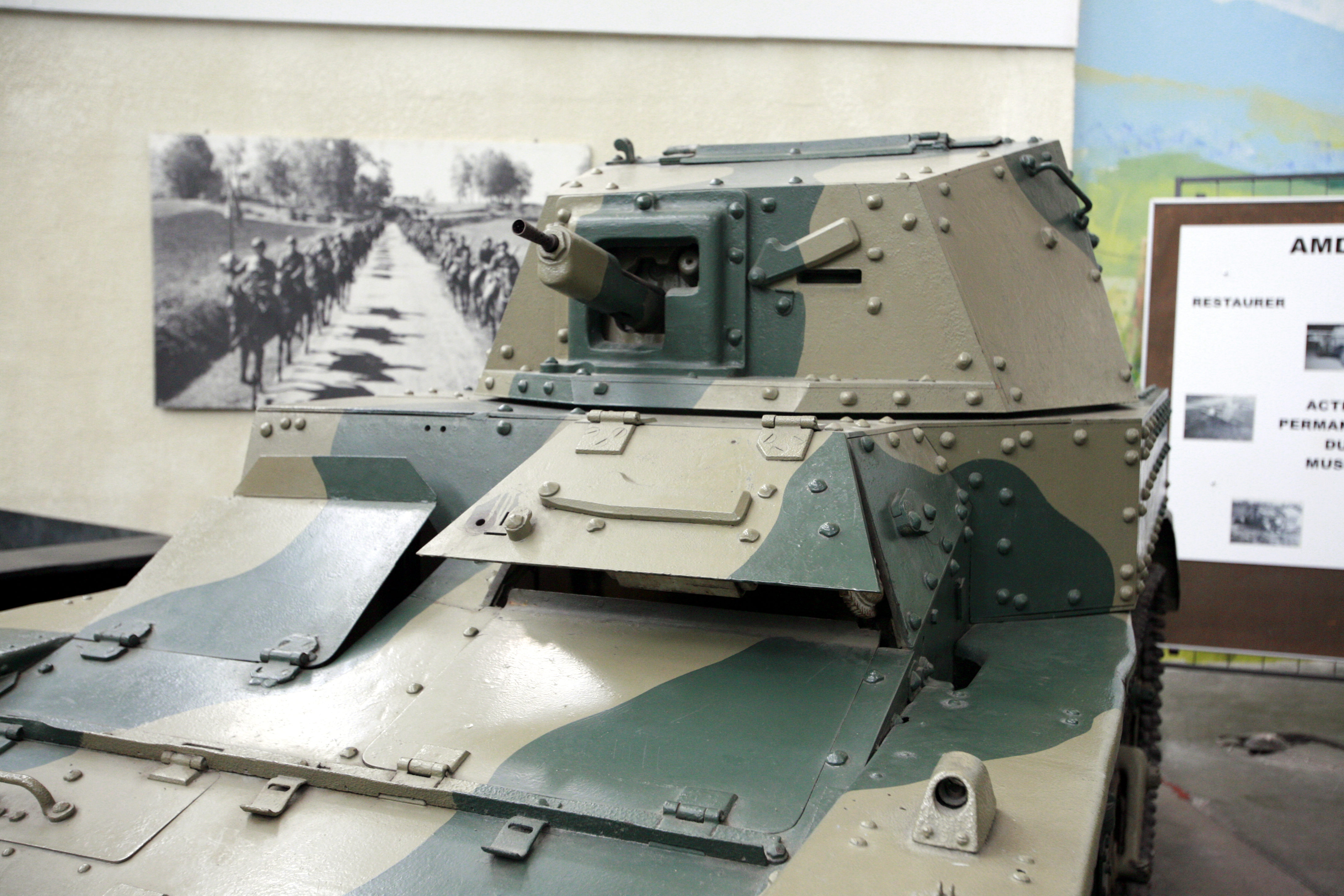 details of the turret