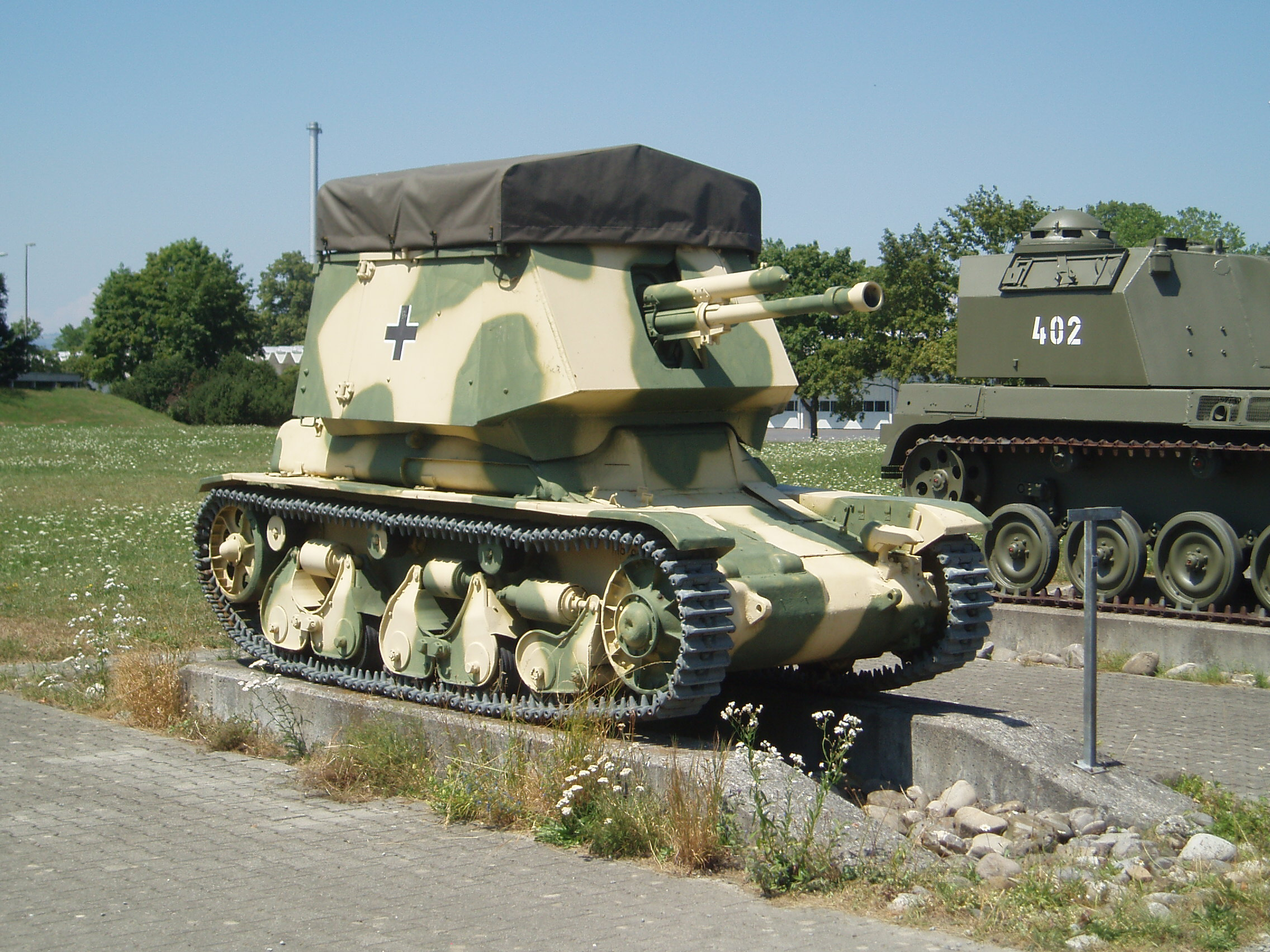 Panzerjäger I based on the R-35 - Wikimedia commons