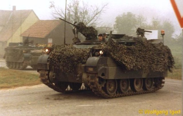 Canadian M113 Lynx of the 4th Mechanized Brigade, 1986 - Credits: Wolfgang Igert