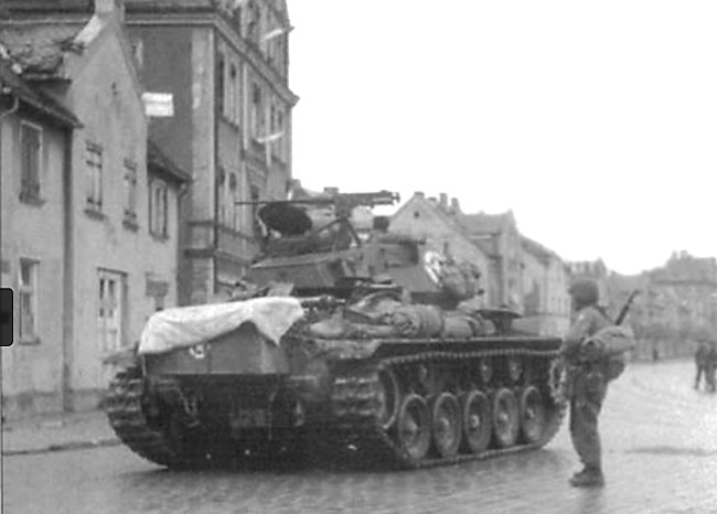 M24 sits at a cross road in Augsberg