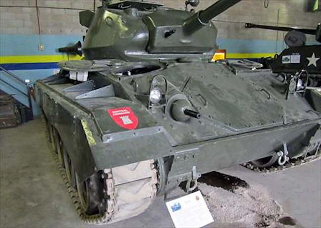Ontario Regiment RCAC Museum M24 Chaffee Light Tank