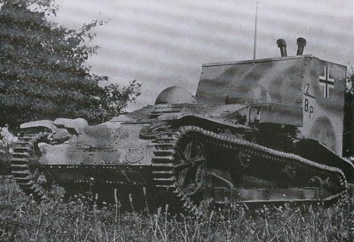 Beobachtungspanzer auf Infanterie-Schlepper UE(f)