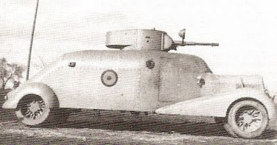 Possibly a second MC-36 in Nationalist service with a T-26 turret. Above photos do not show a headlamp on the gun, but it may have just been removed or added at a different point in time.