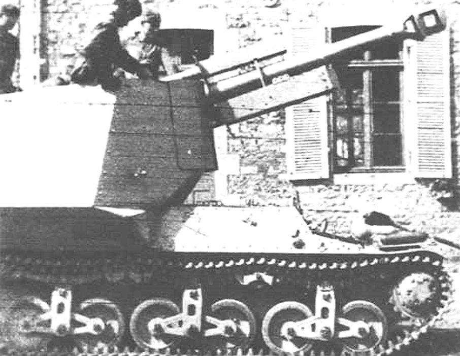 A Geschuetzwagen Lorraine in service in Normandy