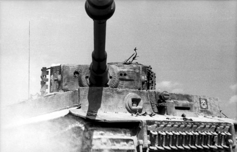 Panzer VI Tiger, Northern France, 1944.