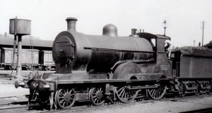 GS WR train 1902 built at Inchicore