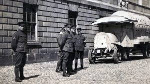 HD soldiers with daimler guinness probaly sackville street