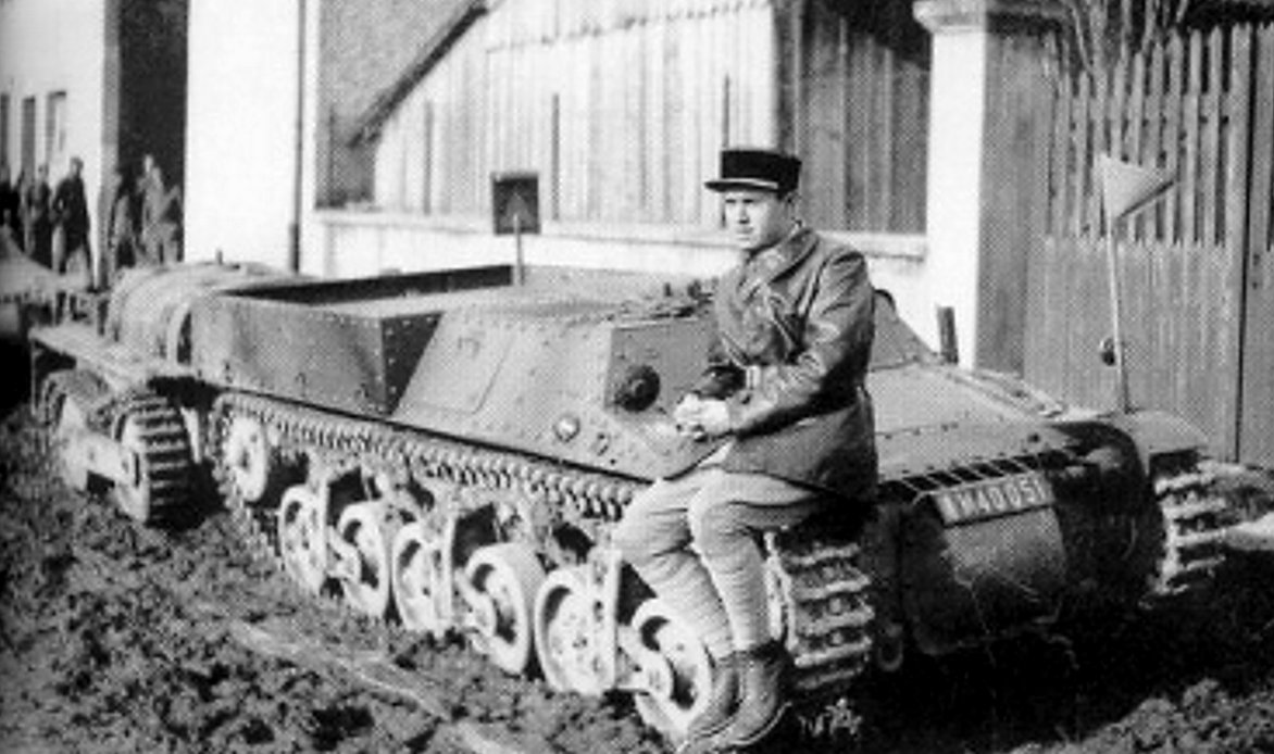The Lorraine 37L military tractor