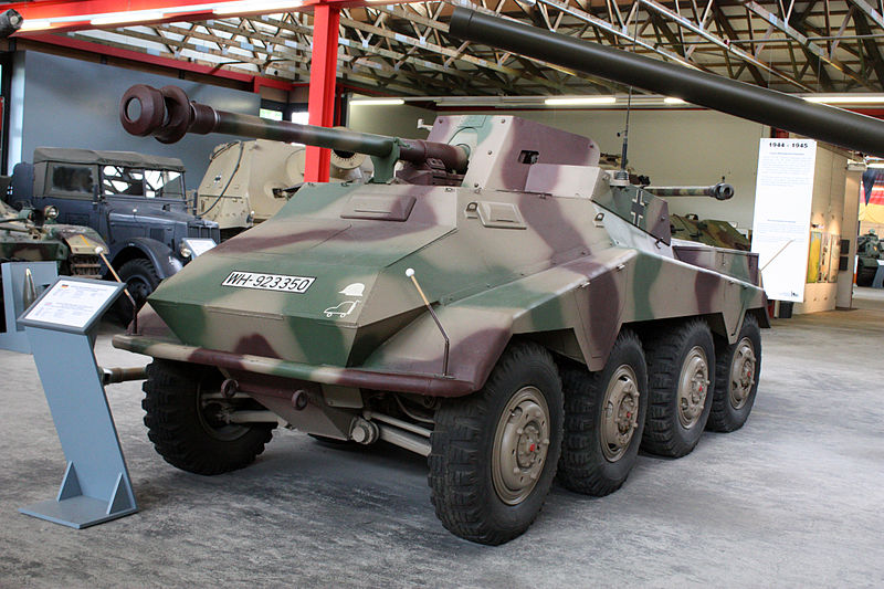 Sd.Kfz.234/4 at Panzermuseum Munster