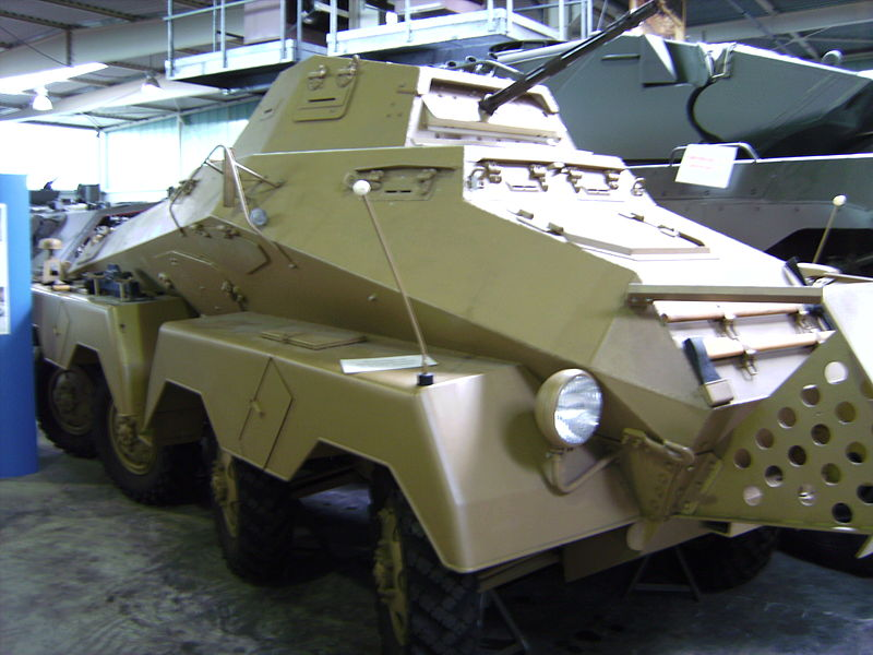 Sd.Kfz.231 8-rad of the DAK