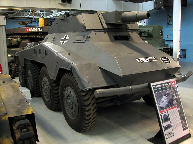 Sd.Kfz.234/3 Stummel at Bovington