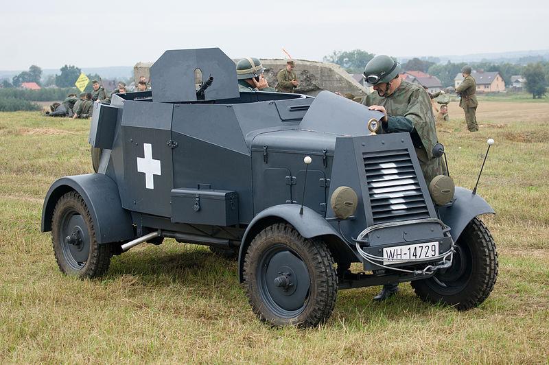Reenactment, Kfz.13, Poland campaign