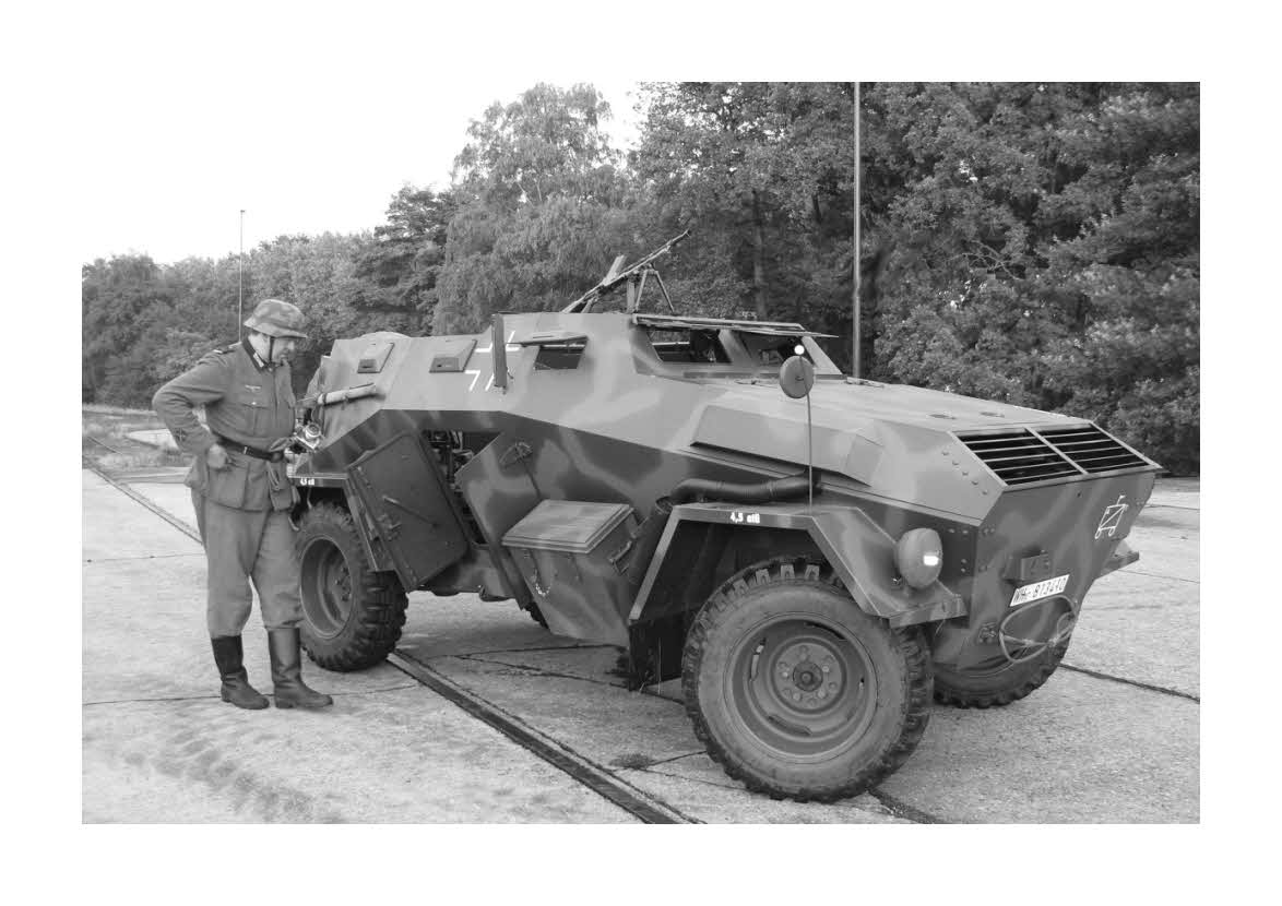 A reconstitution of the Sd.Kfz.247 Ausf.B