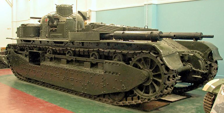 A1E1-Bovington_Independent at Bovington - rear view