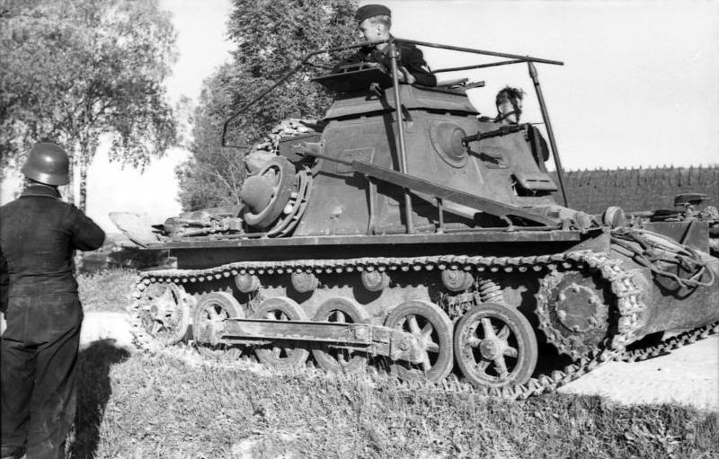 Panzerbefehlswagen I