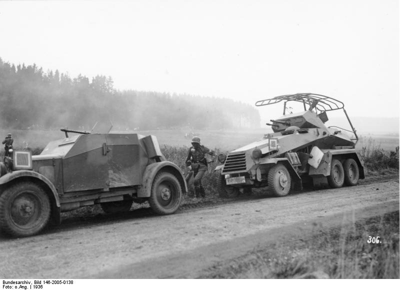 Kfz.13 on maneuvers in 1936