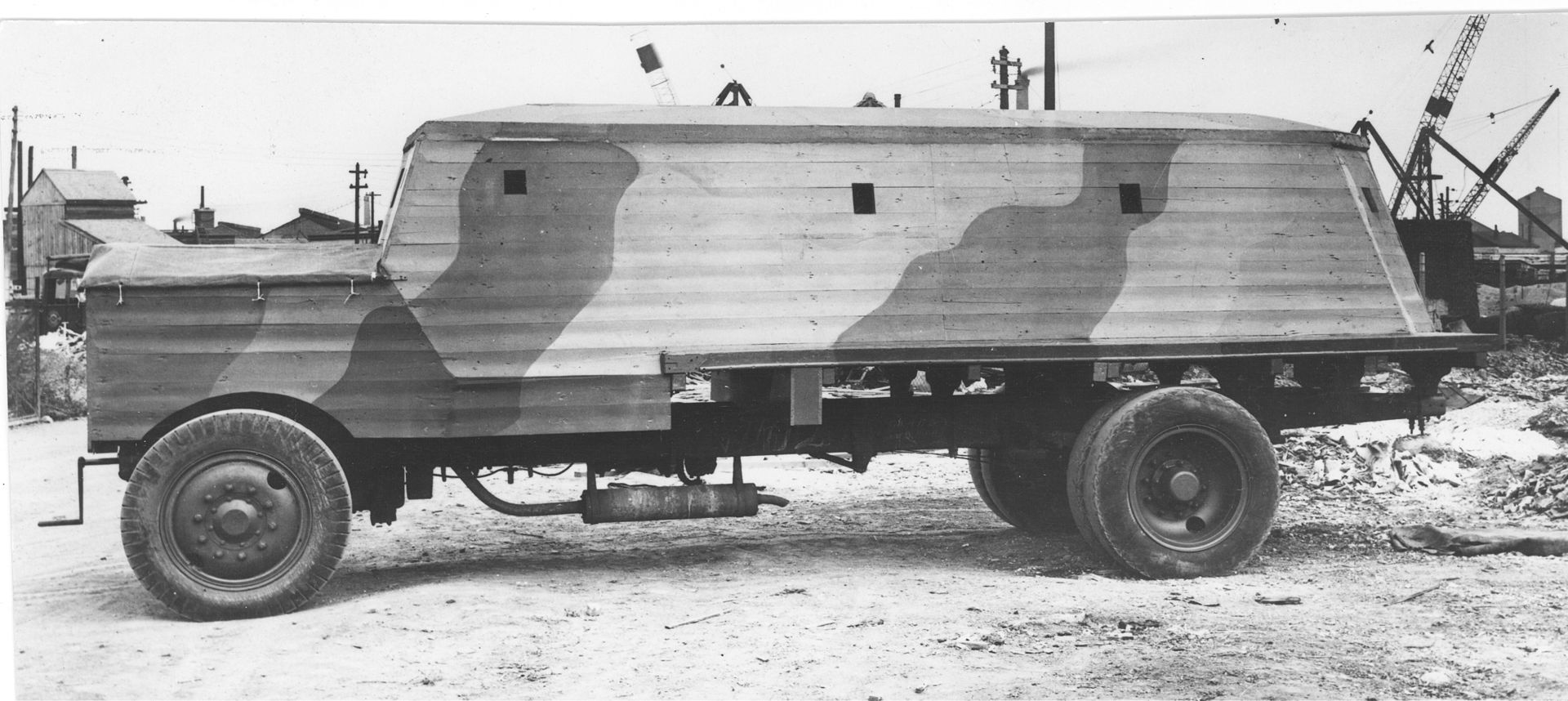 Type 3 fully enclosed Bison, government photograph circa 1940/1.