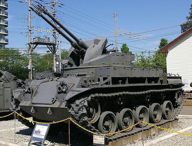 JGSDF_M42_SPAAG