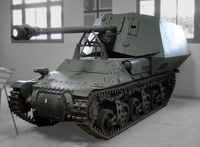 Marder I at the Saumur museum - Credits: Wikimedia Commons.