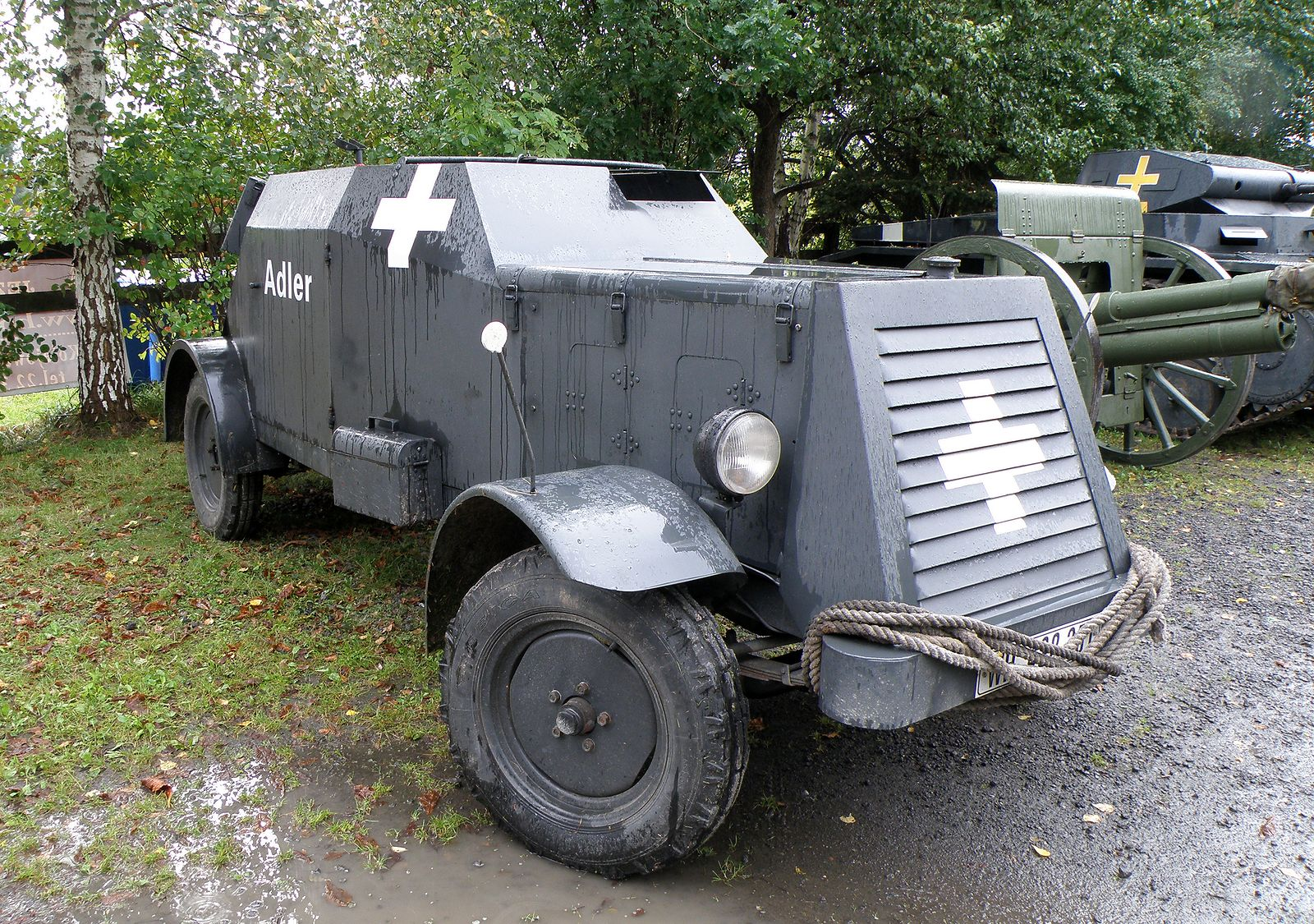 Adler Kfz.13 replica in Poland