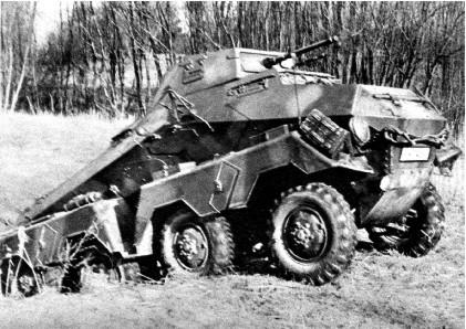 Sd.Kfz.231 in Russia