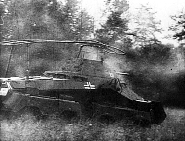 Sd.Kfz.231 (8 rad) in the Ardennes, December 1944