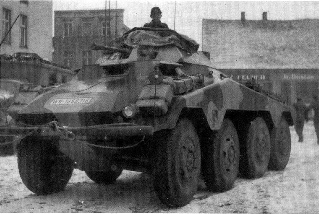 Sd.Kfz.234/1, Eastern Front