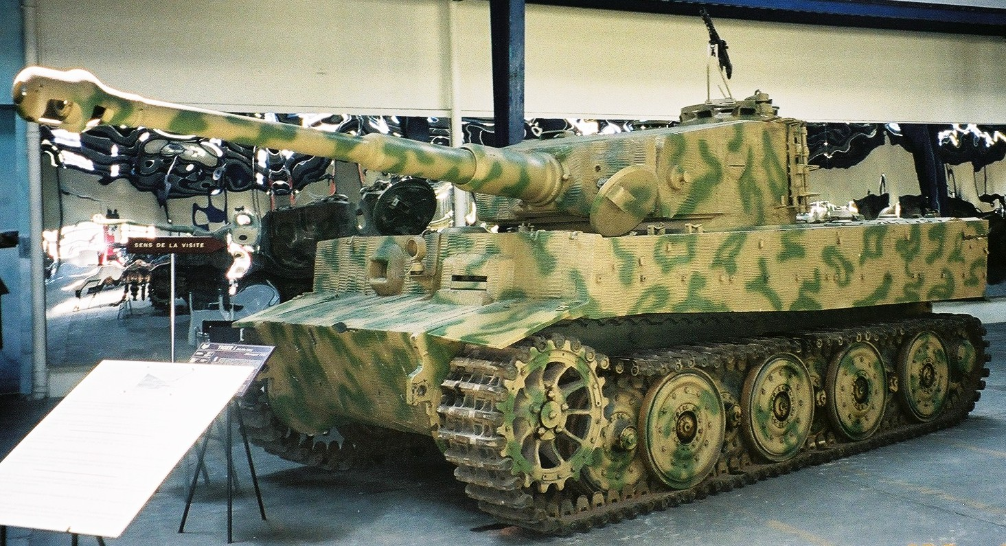 The Tiger at Saumur