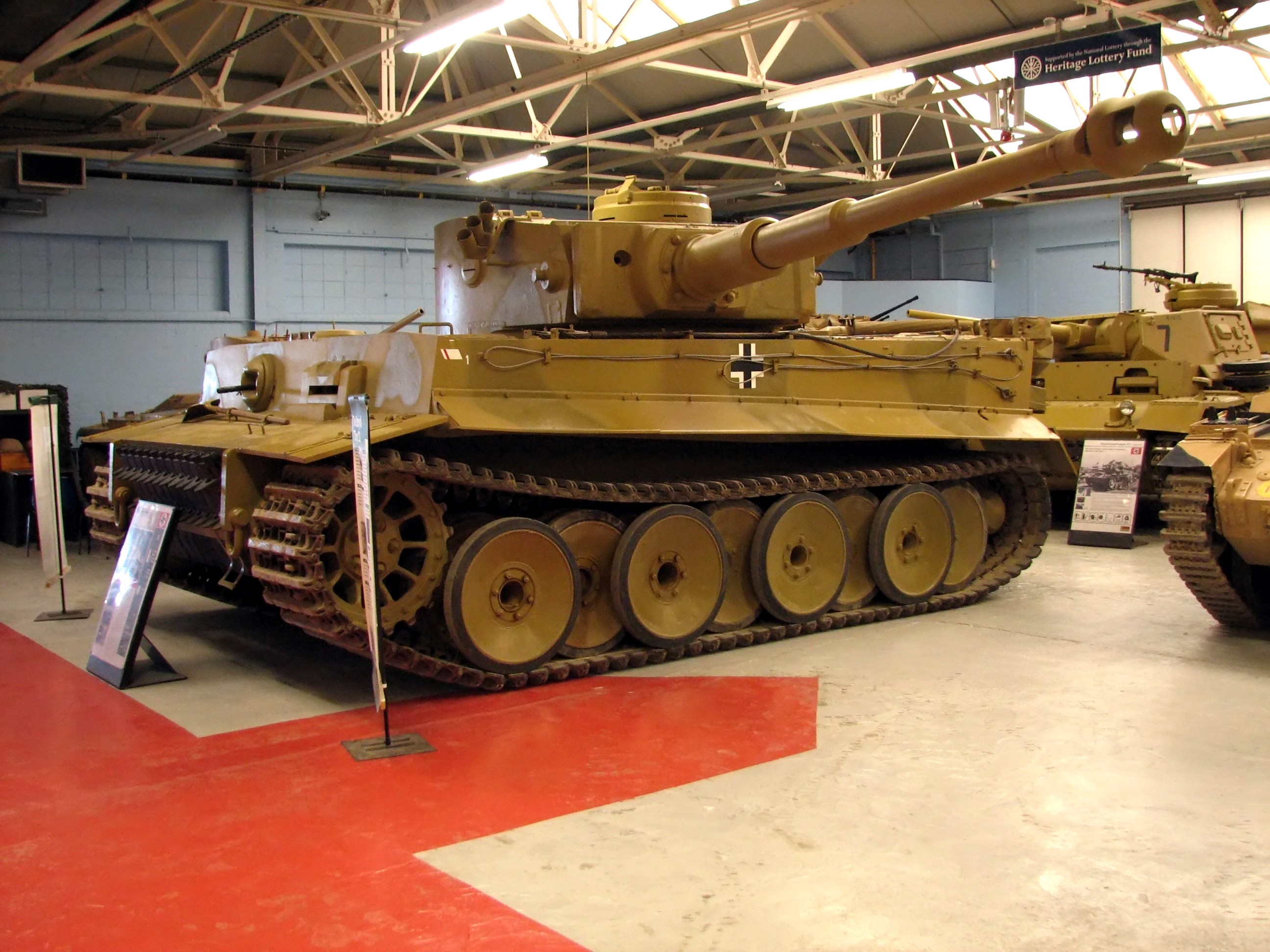 The Tiger at Bovington