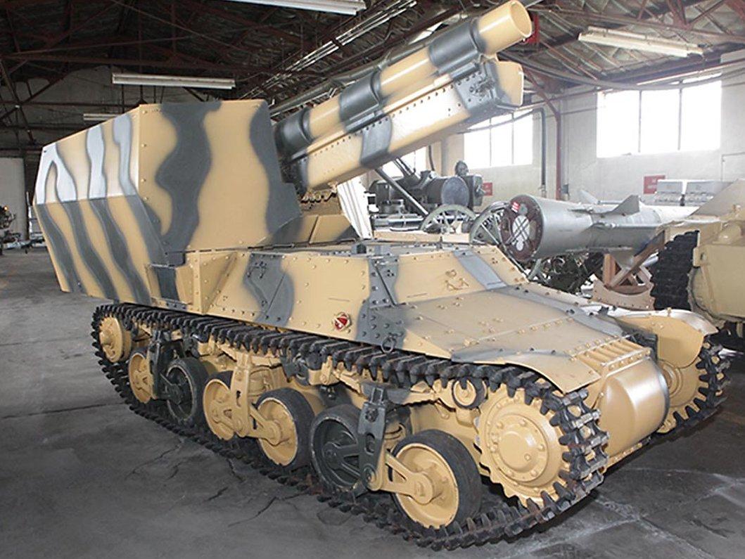 US Army Artillery Museum, Fort Sill, OK, USA,an Alkett built 15cm s.FH 13/1 (Sf) auf Geschützwagen Lorraine Schlepper(f)