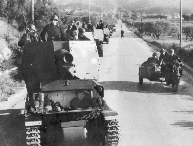 15cm Geschutzwagen Lorraine, driver hatch down