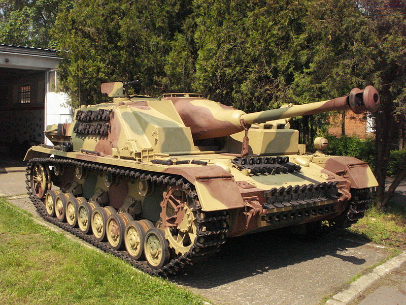 StuG IV preserved in Poland