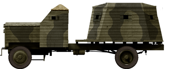 Bison, Type 2. This type featured a separate fighting compartment.