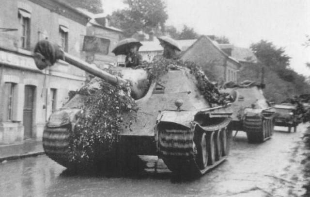 Jagdpanther of the 3/Schwere Panzerjäger-Abteilung 654, France, 1944