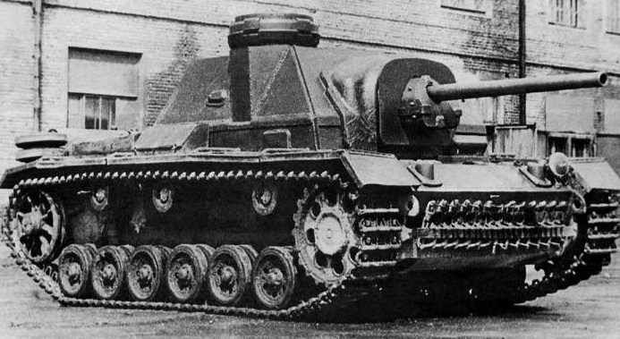 SU-76i with commander cupola
