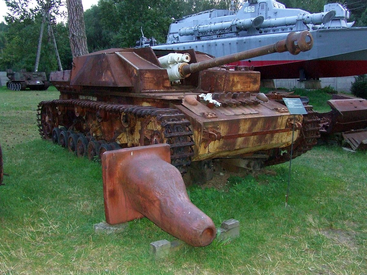 StuG IV wreck in Poland