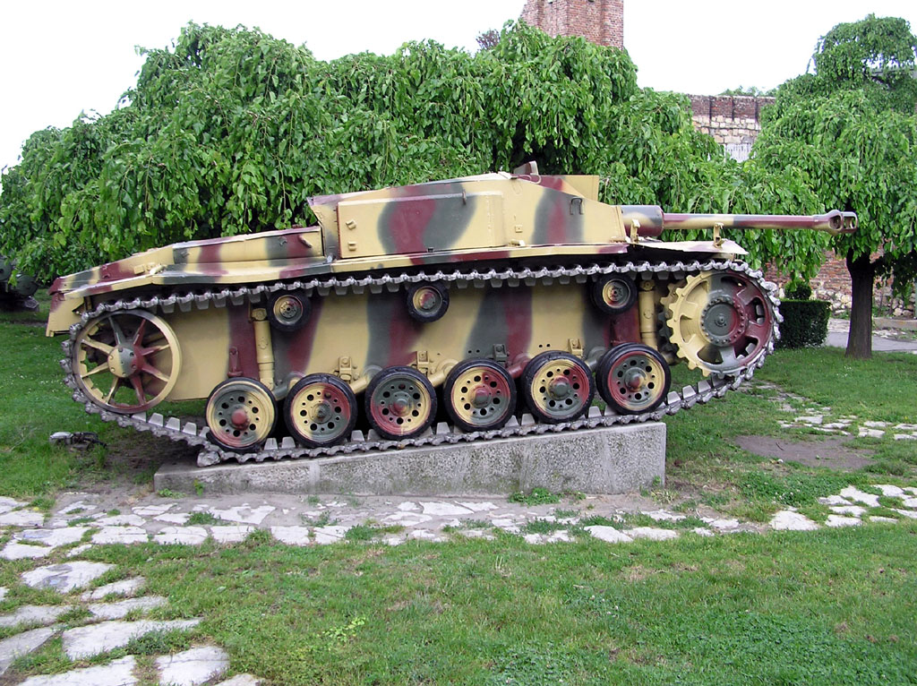 StuG III at the Belgrade museum