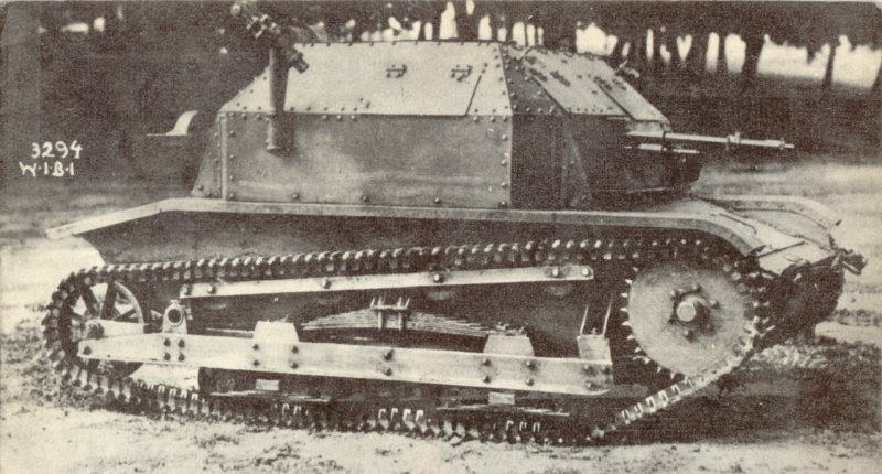 The original TK-3 tankette.