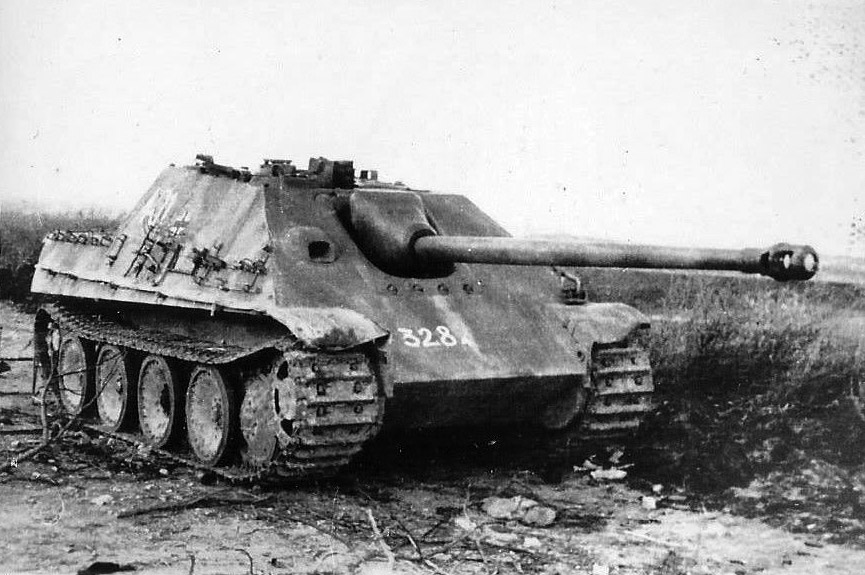 Another Jagdpanther captured by the Soviets