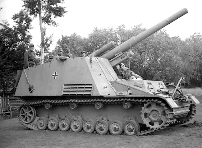late version Hummel 15cm spg
