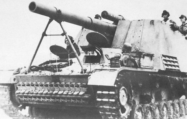 Hummel SPG 15cm Howitzer