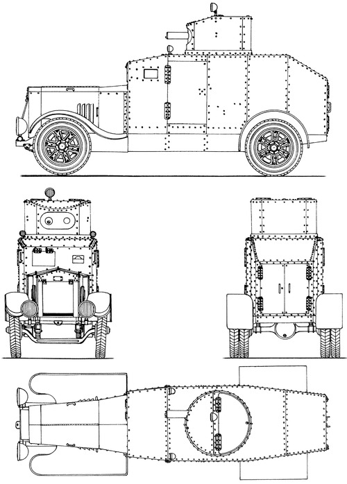Type 92 Osaka blueprint