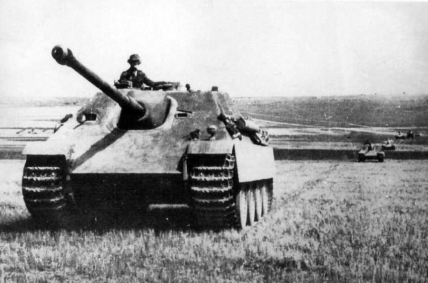Jagdpanther of schwere Panzerjager Abteilung 654