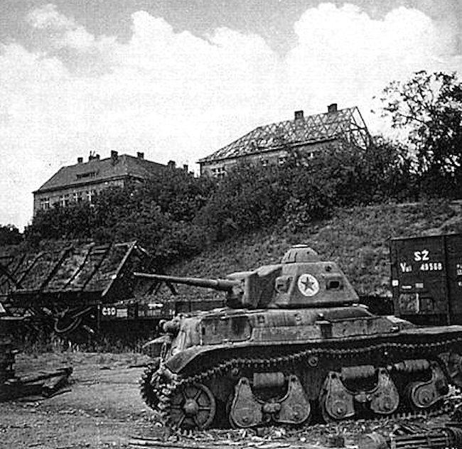 Vânătorul de Care R35 tank