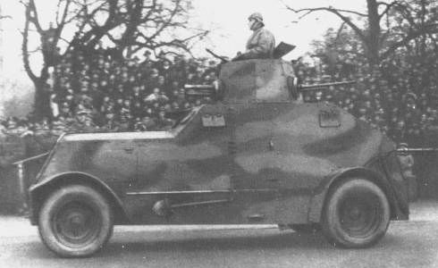 wz.29 heavy armored car
