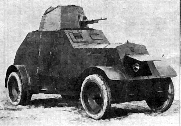 wz.29 armored car