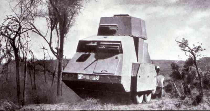 Fiat 611 rear