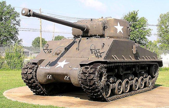 Preserved M4A3(76)W HVSS Sherman Tank