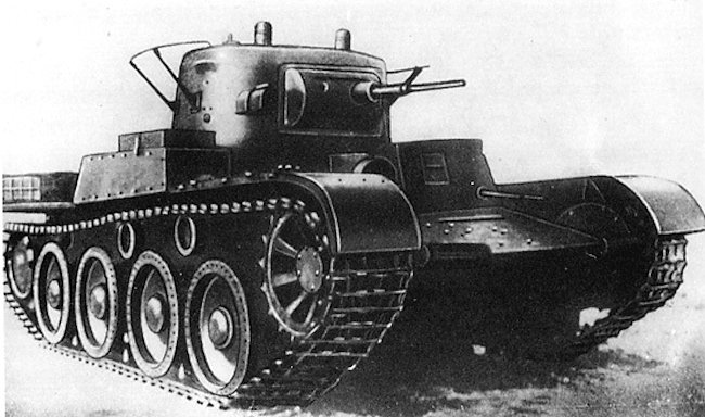 Russian Tanks and Armored Vehicles 1917-1945 T-46-1