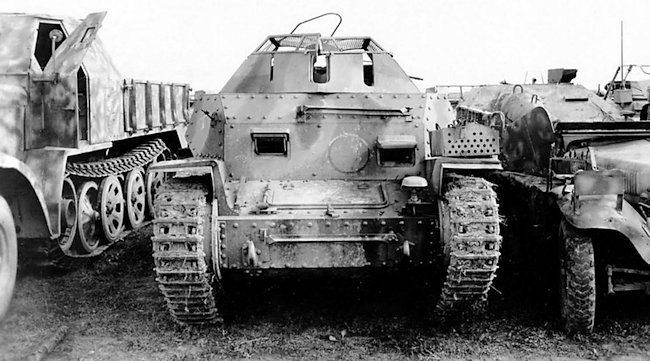 captured German Aufklärungspanzer 38(t)